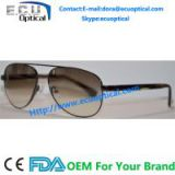 2014 hottest new fashion men sunglasses metal models wholesale polarized sunglasses acetate with spring temple