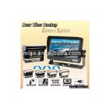 rear view system with TFT LCD monitor & auto shutter camera