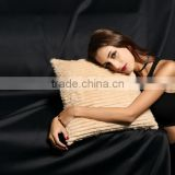 YR177 Sheared Real Rabbit Fur Pillows/China Fur Factory OEM Customize Order/Fur Cushion Cover