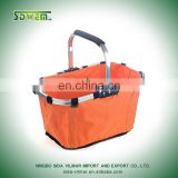 polyester 420d reusable and gife shopping promotional basket bag