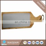 sublimation blank white wood frame Glass Bread Board braed cutting board