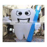 giant tooth shaped pvc balloons inflatable teeth for sale