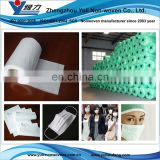 Dust filter material for face mask n95