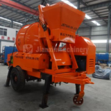 Mini concrete mixer pump of Jianxin Machinery for sale