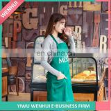 Manufacturer price OEM design bartenders uniform apron manufacturer sale
