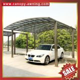 outdoor garden villa house aluminium PC polycarbonate carport car port shelter canopy awning cover shed