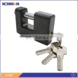 NEWMAN A1004 wholesale cheap cute iron safety antique top security unbreakable big rectangular padlocks heavy duty