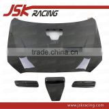 FOR EVO X EVO 10 HOOD OEM STYLE CARBON FIBER HOOD BONNET (WITH AIR DUCT) FOR MITSUBISHI LANCER EVO 10 EVO X (JSK200804)