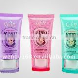 40mm BB cream colorful elegant oval soft tube cosmetic plastic soft tube acrylic tube flexible caps wengu