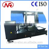 GS500 CNC Metal Cutting Hydraulic Shearing Bandsaw machine with High Quality Bi-metal Saw Blade