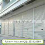 Automatic aluminum alloy roller shutter door durable strong impact for commercial garage