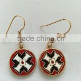 cast iron ornaments/fashion earrings lapel pins