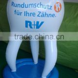 advertising pvc inflatable tooth balloon