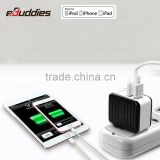 Black 3.4A USB Wall Charger Portable battery charger Home Travel cell phone Charger US AC