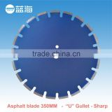 350mm brazed weld segment diamond saw blade the construction tool power tool accessories for asphalt