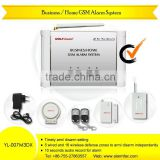 latest new gsm alarm,home security alarm, remote control alarm system Business/Home GSM Alarm System YL-007M3DX