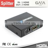 Full HD 1080p 3D HS2 HDMI Splitter 1x2 Amplifier Repeater Duplicator Converter Cable, tell me which plug you want ( US,EU,AU)