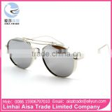 Best Selling Cats Eye Metal Lenses Outdoor Women Summer China Sunglass Manufacturers