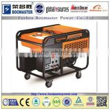 8500w gasoline generator with portable handle and wheels