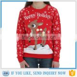 Womens Rudolph Ugly Christmas Sweater Jumper