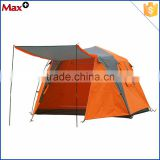 Hot sale 3 - 4 person luxury family Outdoor waterproof portable camping tent