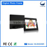 8 inch digital photo frame for mothers birthday BL8002MR OEM ODM mass production