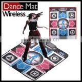 China Popular Single Dance Pad 32 Bit Wireless For TV and PC 2 In 1 Dancing Mat