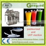Electric industrial plate sterilizing machine for fresh fruit juice/Coconut milk/tea drinks/honey/grape wine/beer