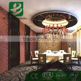 Soundproofing Polyester Material Fire Resistant Decorative Acoustic Wall Panel for hotel