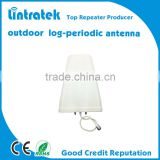 Lintratek outdoor LPDA antenna /2g gsm 3g wcdma 800-2500mhz/antenna Log Periodic cell phone signal booster antenna