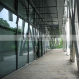 aluminium glass curtain wall system with much reasonable curtain wall price