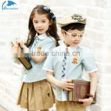 Pastoral, bmi, stripes, princess, lovely summer elementary school kindergarten suit of preppy