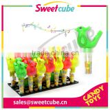 Low price bird whistle toy with candy