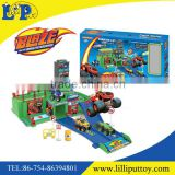 New design car plastic parking lot garage toy