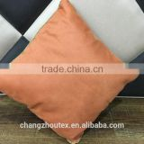 bronzing microfiber suede cloth for cushions and pillows