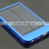 Manufacturer of 2600mAh portable solar charger, 5V 1A solar battery charger, solar phone charger for iphone 4 5, Samsung Galaxy