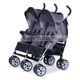 Twin stroller baby stroller umbrella twin stroller compact twin pushchair