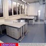 Laboratory Furniture Type and Commercial Furniture General Use Polished Cabinet With Table