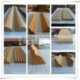 wholesale wood trim wood moulding for corner/wood decorative cabinet moulding/craft wood decorative moulding