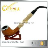 GTO2021 Red Classical Bakelite Tobacco Smoking Pipe