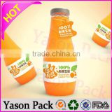 Yason seamed shrink sleeves shrinkable plastic labels pvc film shrink wrap film for food