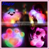Smile Star Design plush toys Color Changing LED Light pillow