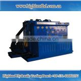 Hydraulic Piston Pumps and Motors Test Bed and Test Bench