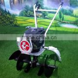 6.5HP manual rotary tiller rotary cultivator land leveling equipment