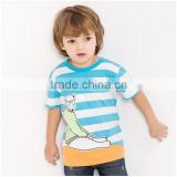 OEM/ ODM Children's T-Shirts cute bear 100% cotton with high quality fabric and paint care every inch of your sweetheart skin