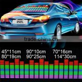 Auto LED Sound Activated EL Sheet Car Music Sticker Equalizer Glow Flash Panel Colourful Christmas Decorations Music Flash Light
