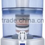 22L cermic activated carbon mineral gravity water filter