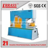 Q35Y hydraulic Metal Sheet Process Machine , Steel Facbricate Machine , Iron Rod Shearing Machine