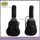 Custom Cheap Black 40in and 41in Classic Musical Instrument Guitar Bag with Carrying Shoulder