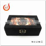 Vaporizer Incubus Box MODs Clone Incubus Mechanical Box MOD Red Copper &Aluminium Body DUAL 18650 BATTERIES Fit 510 RDA